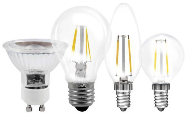 4 Watt Filament LED Lampe in Glühlampenform, E27, 470lm - 2 Stück Müller Licht