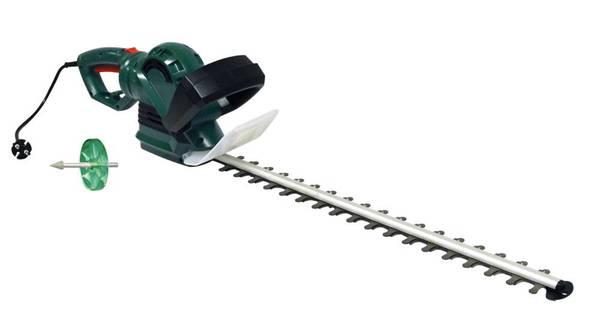 Elektro-Heckenschere GM 7160 inklusive Schärfvorsatz für Heckenschere, 2er Set GartenMeister