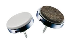 Möbelgleiter QuickClick Set DUO - 4-teilig, für 1 Tisch oder 1 Stuhl