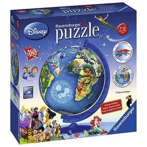 Ravensburger - 3D Puzzle: Disney Globus, 180 Teile