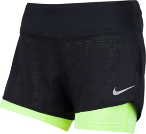 Nike FLEX 2-IN-1 SHORT - Damen Laufhosen