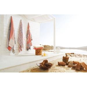 biederlack SUNNY DAYS-KARO Wohndecke in Korallrosa