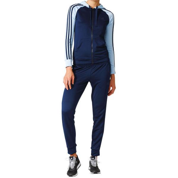 adidas trainingsanzug frauen blau