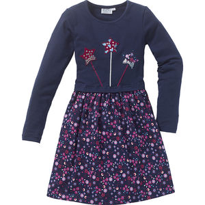 Kids and Friends Girls-Kleid mit Applikation
