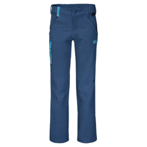 Jack Wolfskin Softshellhose Kinder Activate Pants Kids 152 ocean wave