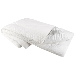 JohnCotton Prestine Duo-Steppbett (155x220, weiß)