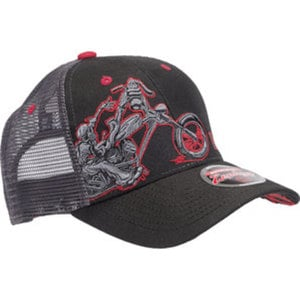 West Coast Choppers Chopperdogs        Roundbill Cap