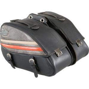 Held Leder Satteltaschen        2x20 Liter für C-Bow Halter