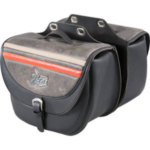 Held Leder Satteltaschen        2x20 Liter für Click-System