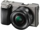 Bild 2 von SONY Alpha 6000 LH Kit Systemkamera, 24.3 Megapixel, Full HD, Exmor APS-C Sensor, Externer Blitzschuh, Near Field Communication, 16-50 mm Objektiv, Autofokus, Grau