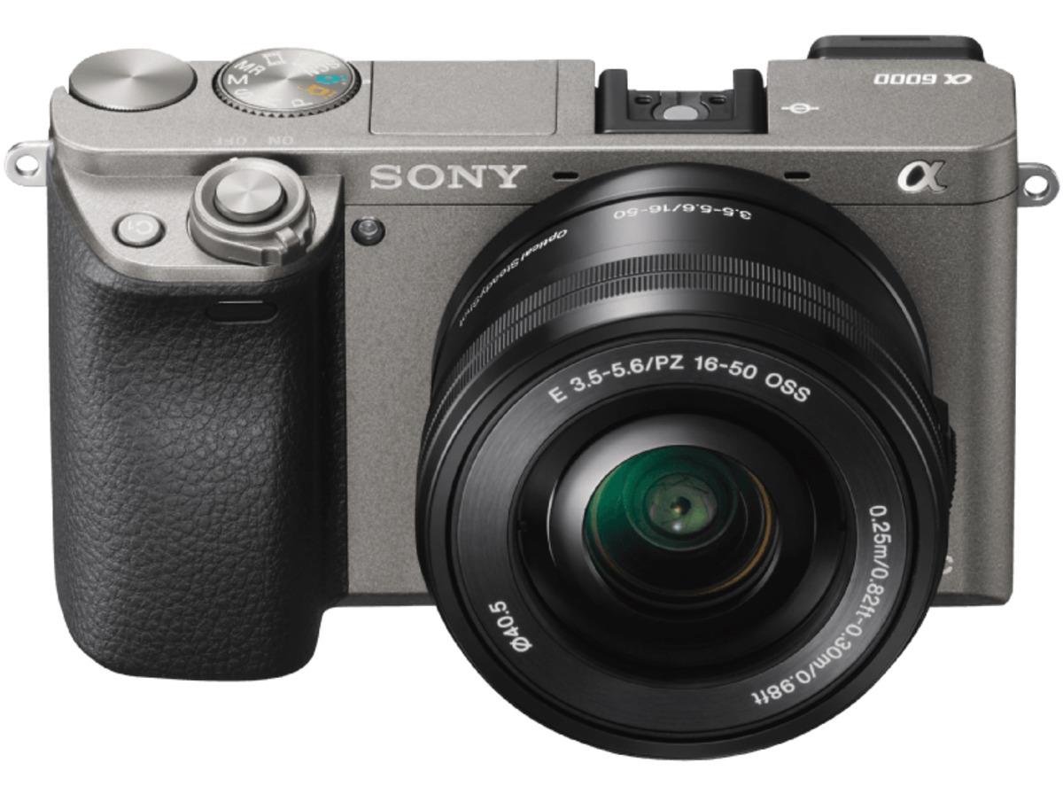 Bild 4 von SONY Alpha 6000 LH Kit Systemkamera, 24.3 Megapixel, Full HD, Exmor APS-C Sensor, Externer Blitzschuh, Near Field Communication, 16-50 mm Objektiv, Autofokus, Grau