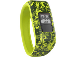 GARMIN  vivofit jr., Fitness Tracker, 136-150 mm, Silikon, Camo