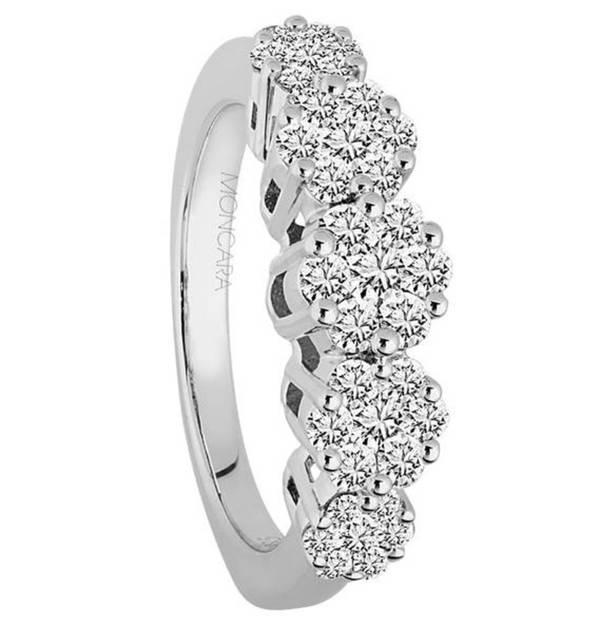Moncara diamant ringe
