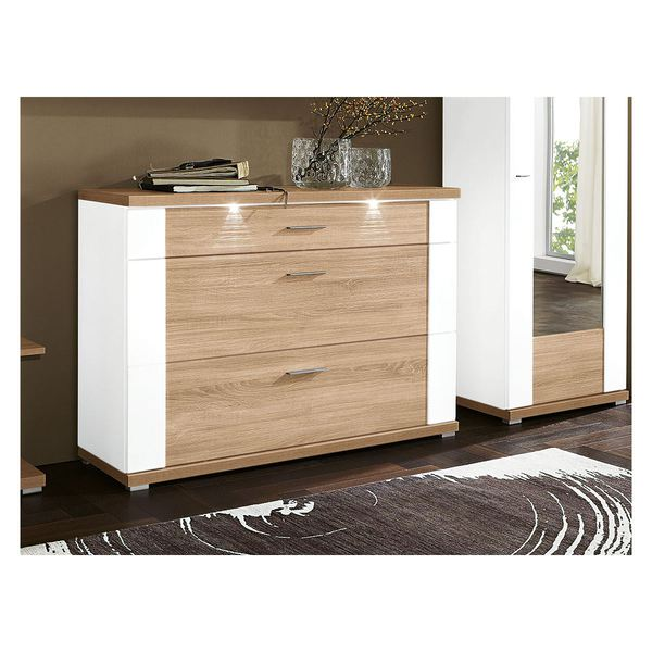 schuhschrank manhattan wei hochglanz x 108 x 42 cm von porta m bel f r 399 ansehen. Black Bedroom Furniture Sets. Home Design Ideas
