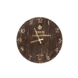 Uhr CHEESY mit Metall verkleidet