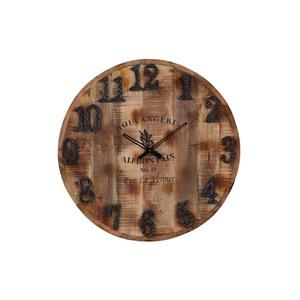 INTERhome Uhr CHEESY im Vintage-Used-Look