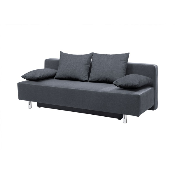 schlafsofa milow stoffbezug grau ca 200 x 87 x 91 cm von porta m bel f r 199 ansehen. Black Bedroom Furniture Sets. Home Design Ideas