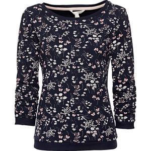 Tom Tailor Denim Damen Sweatshirt mit Blumen Print
