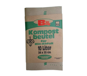 Kompostbeutel Bio Bag, 10 l