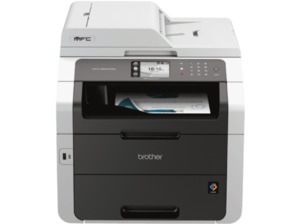 Brother MFC-9332CDW LED 4-in-1 LED-Multifunktionsdrucker (Farbe) WLAN Netzwerkfähig