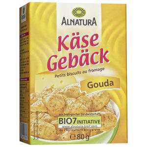 Alnatura Bio Käsegebäck Gouda
