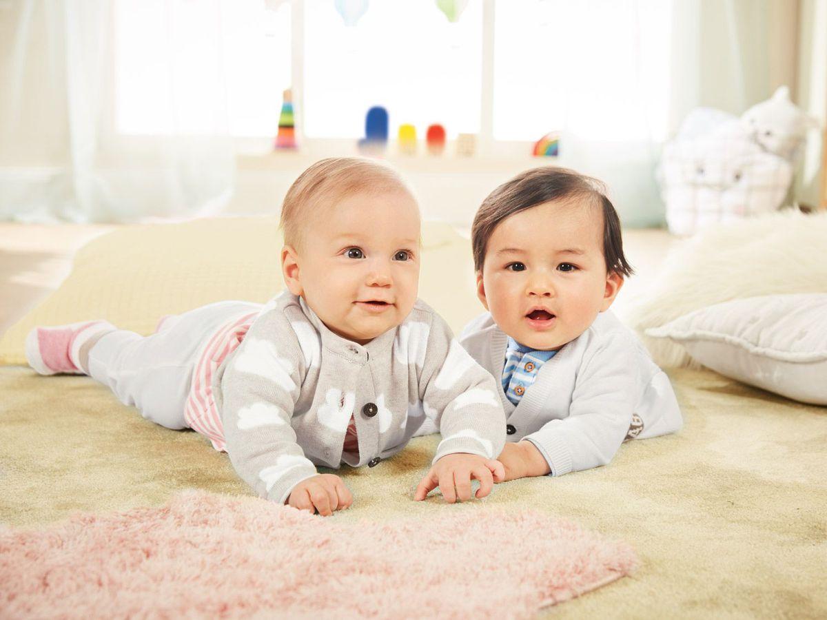 Bild 5 von LUPILU® Baby Jungen Strickjacke