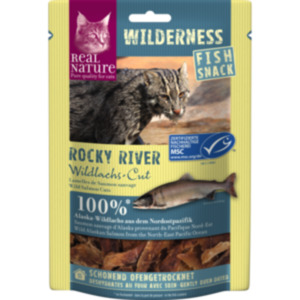 REAL NATURE WILDERNESS Fish-Snack 35g