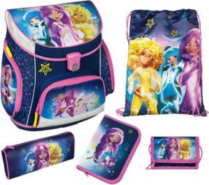 EXKLUSIV Schulranzenset CAMPUS UP Star Darlings, 8-tlg. Kollektion 2017