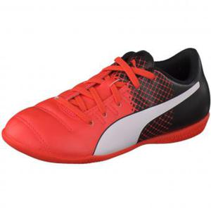 Puma Performance evoPower 4.3 IT Jr Hallensport Mädchen|Jungen neonorange