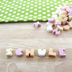 Fruchtbuchstaben mit Traubenzucker 175g 1,14 € / 100g