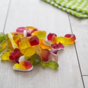 Fruchtgummi Kunterbunt 250g 1,19 € / 100g