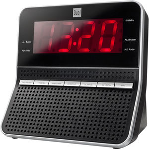 Dual Radiowecker CR 09, schwarz