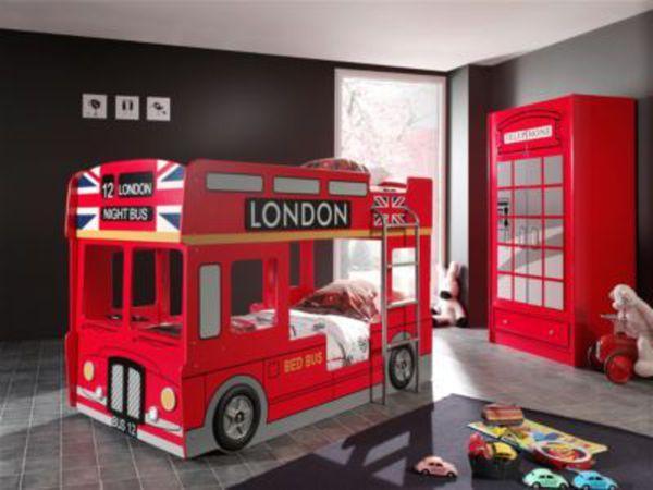 Etagenbett Bus Gebraucht : Vipack etagenbett london bus von plus ansehen discounto