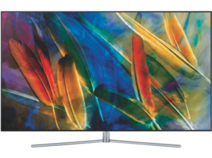 SAMSUNG QE65Q7FGMT QLED TV (Flat, 65 Zoll, UHD 4K, SMART TV)