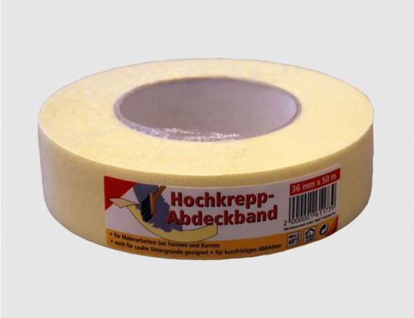 Hochkrepp-Abdeckband