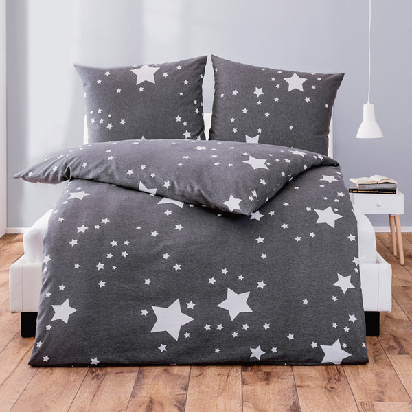 dreamtex feinbiber bettw sche starmix von norma ansehen. Black Bedroom Furniture Sets. Home Design Ideas
