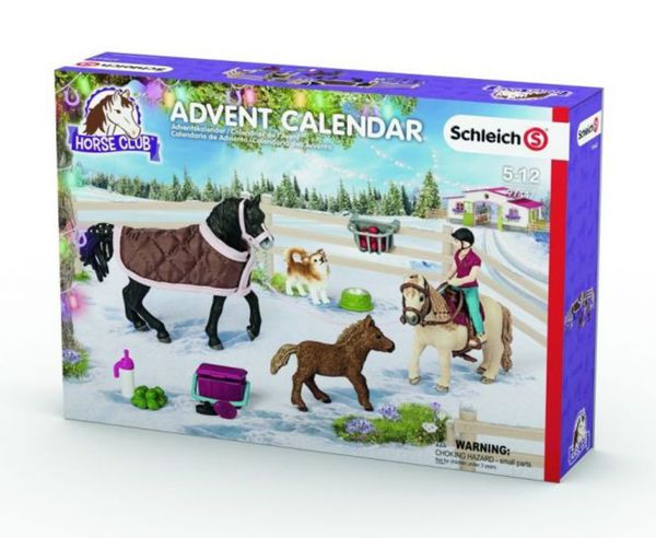 schleich adventskalender pferde 2017 97447 von rofu. Black Bedroom Furniture Sets. Home Design Ideas