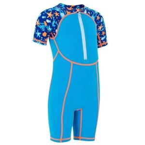 Schwimmanzug Shorty All Hook Baby blau NABAIJI