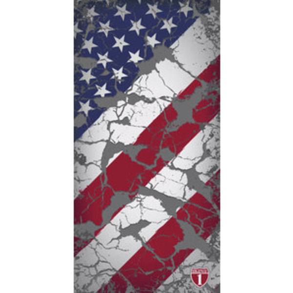 Highway 1 US Flag Vintage Multituch