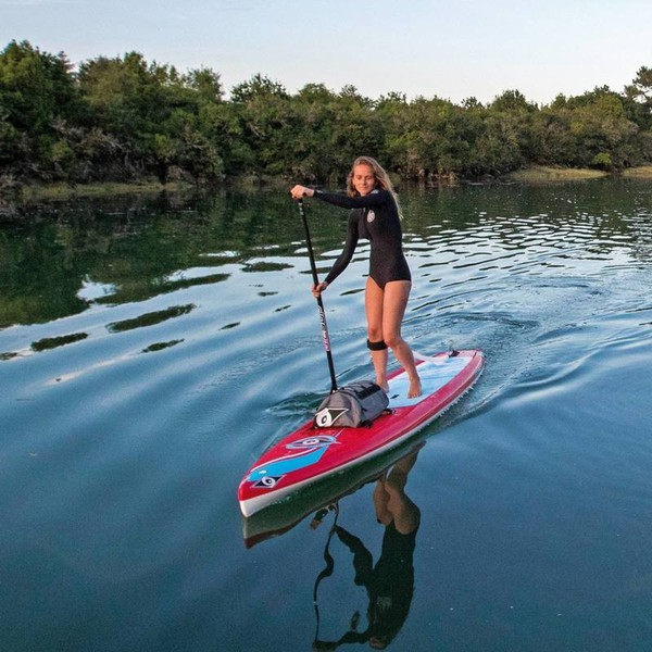 Stand Up Paddle Sup Board Ace Tec Wing 12 6 Rot Bic Sport