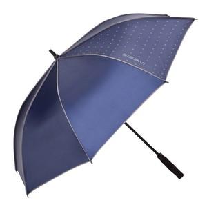 Regenschirm Golf 500 Sonnenschirm UV-Schutz blau INESIS