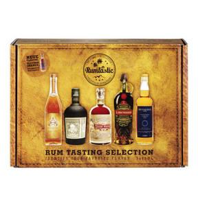 Rum Tasting Set Geschenkset 5 x 40 ml.