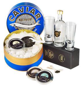 Altonaer Kaviar Import Haus             Kaviar Trilogie Set, 6-teilig