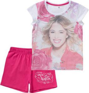 Disney Violetta Schlafanzug Gr. 116/122 Mädchen Kinder