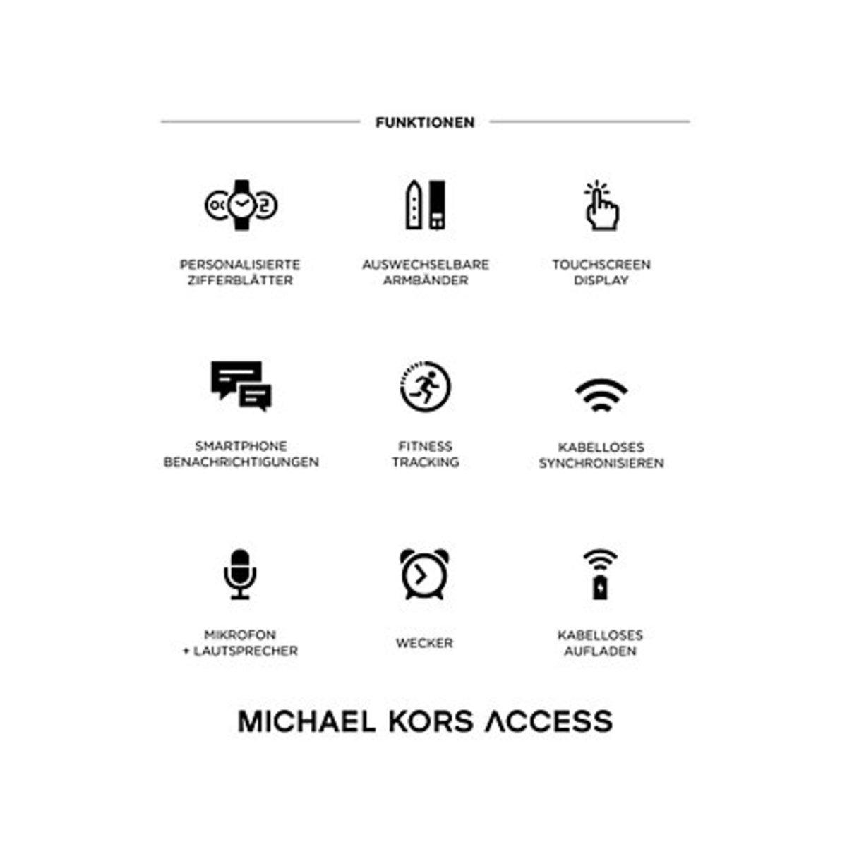 Bild 5 von Michael Kors Access Smartwatch  MKT5009