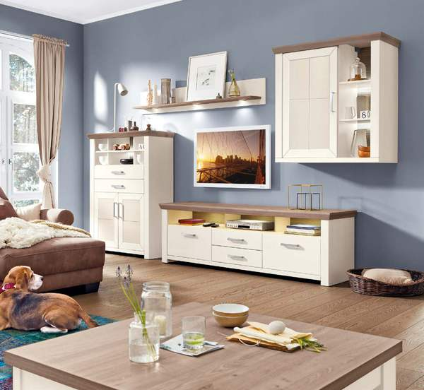 set one wohnwand york von porta m bel ansehen. Black Bedroom Furniture Sets. Home Design Ideas
