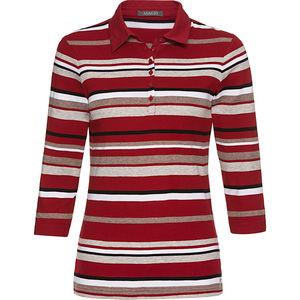 Adagio Damen 3/4 -Arm-Polo-Shirt