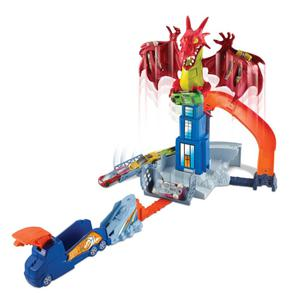 Hot Wheels Drachen-Atacke Spielset