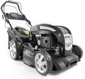 Güde Big Wheeler 460/1 8in1 Blackline Benzin-Rasenmäher mit LED-Scheinwerfern