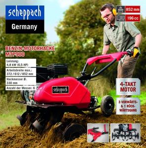 Scheppach Benzin-Motorhacke MTP900